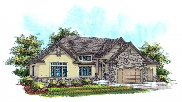 8 best european home plans images on pinterest for Rainey homes