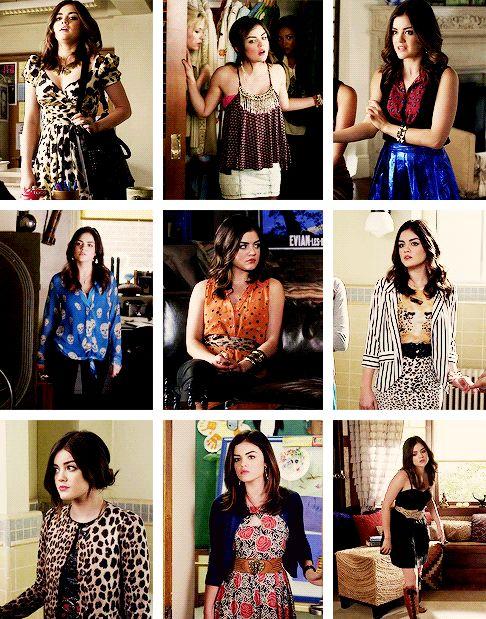 favourite pll outfits  ↳ aria montgomery (season three) part 2/?