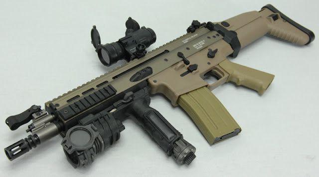 fusil scar