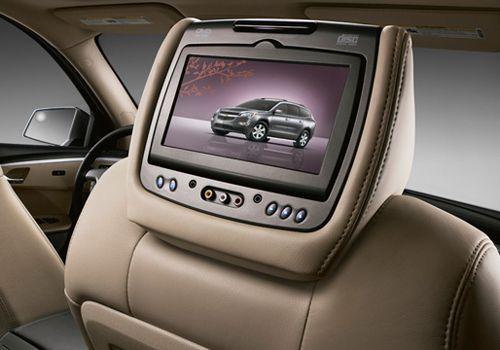 Chevy Silverado Accessory - GM OEM Chevy Silverado Dual Headrest DVD System