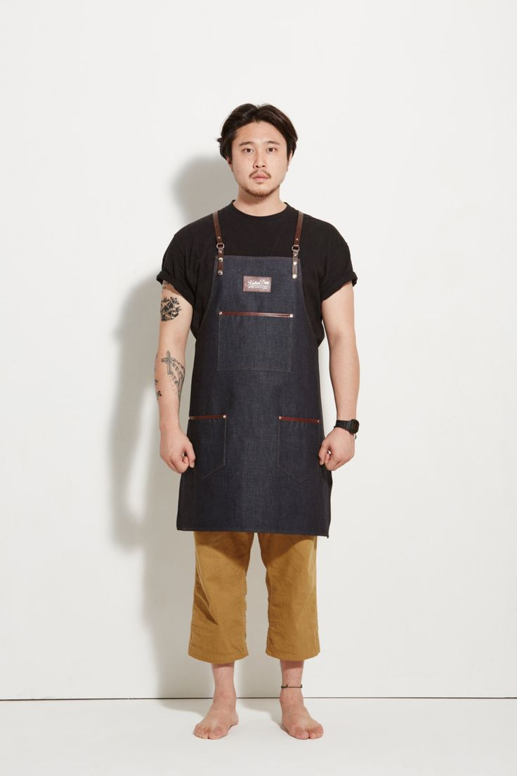 83 Best Beards And Style Images On Pinterest Knives Barber Shop Apron Premium Barista N Barberman Indigo Denim With Dark Brown Leather Strap By Kustomduo