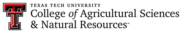 Texas Tech University College of Agricultural Sciences and Natural Resources