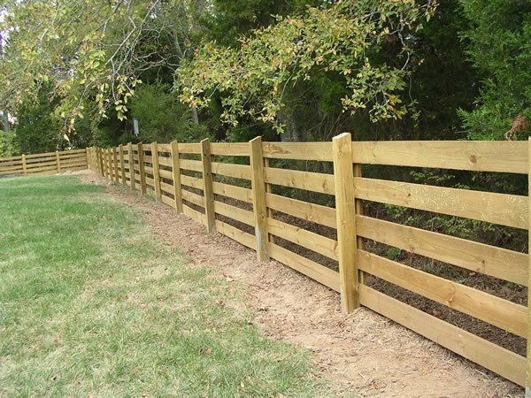 Post and Rail Fence Nashville and Murfreesboro, TN