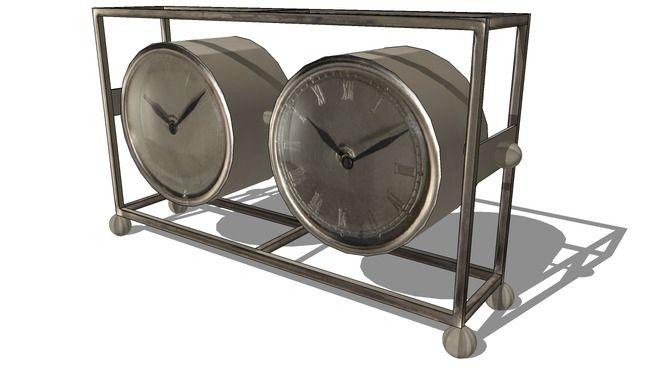 horloge FRANKLIN, maisons du monde, ref 122067 prix 59€ - 3D Warehouse