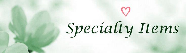 Alypsis Specialty Items!