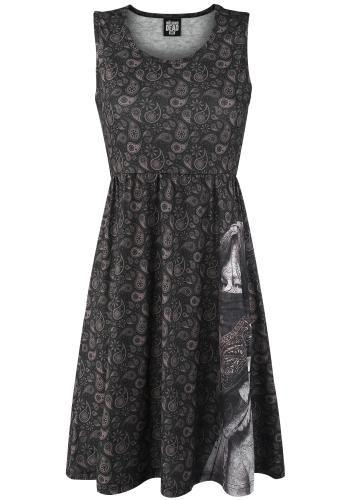 Daryl Dixon - Large Face Bandana - Medium-lengte jurk van The Walking Dead