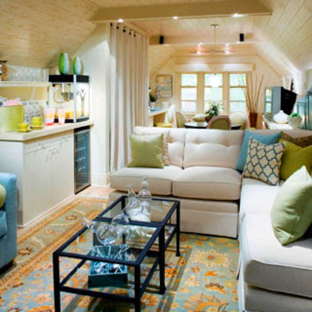 Candice olson divine design home small space An attic room