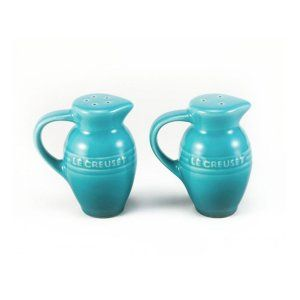 Conj. Saleiro e Pimenteiro Azul Caribe – Le Creuset Ref.: 26741