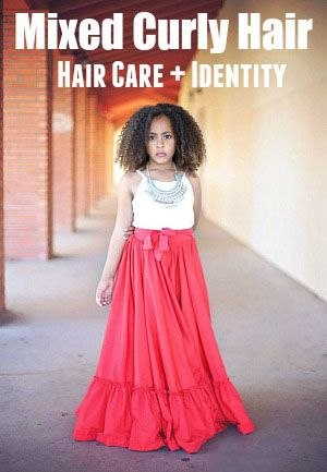 The most common questions asked about curly biracial hair care tips and how it impacts raising multiracial children.