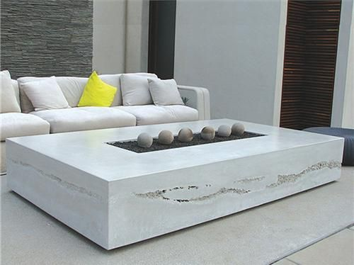 Modern Glass Rectangular Fire Pit Google Search New