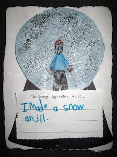 text-to-self connections with The Snowy Day