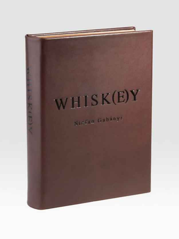 Guide to Whiskey Drinking + other cool gifts for whiskey lovers