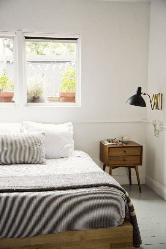 28 Simple And Elegant Mid-Century Modern Beds   DigsDigs