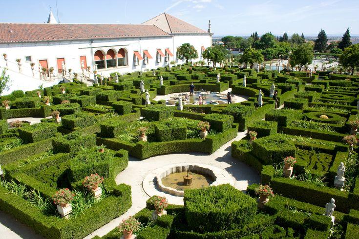 Jardim do Paço Episcopal Castelo Branco, Portugal