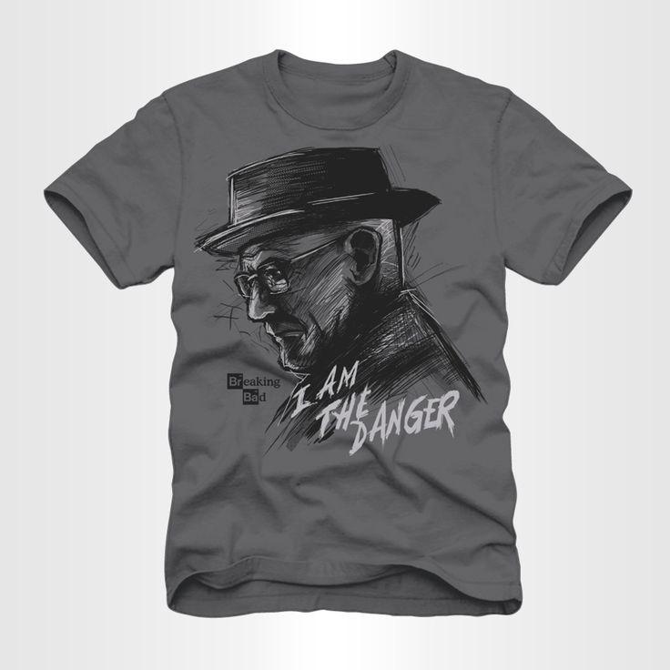 """""""I AM THE DANGER"""" T-SHIRT #BreakingBad"""