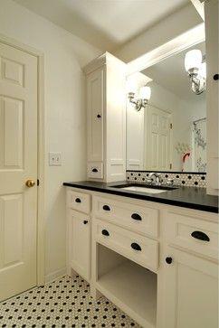 Timeless Bathroom - traditional - bathroom - atlanta - Karen Parham - KMP Interiors