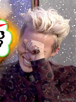 GD, my love...cute and sexy gif from infinity challenge song festival