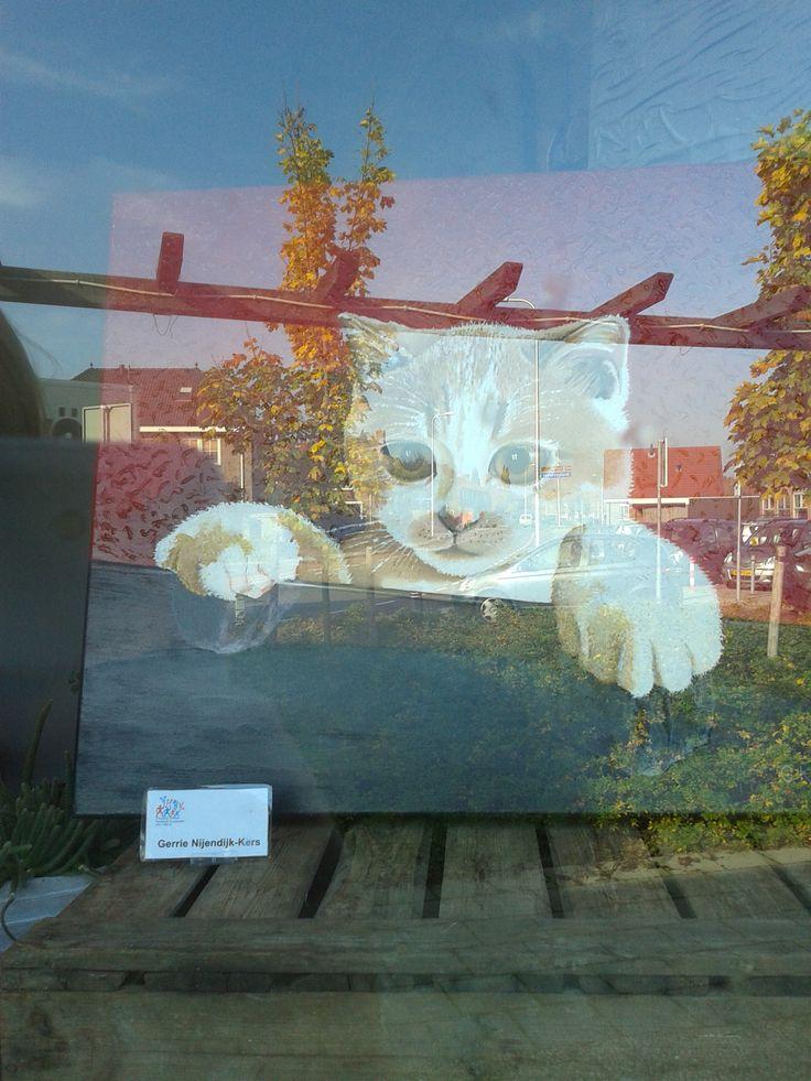 schilderij kunstroute  van: Gerrie Nijendijk-Kers