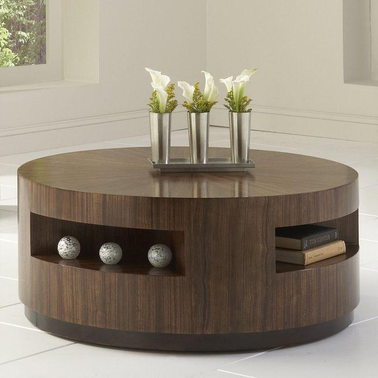 Wonderful Round Coffee Table