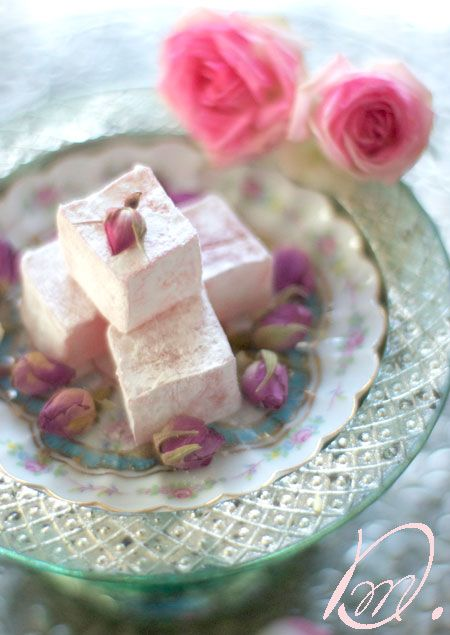 Turkish delight, lokum, Rose, desert