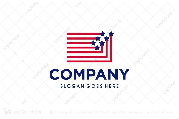 Logo for sale: American Connected Logo