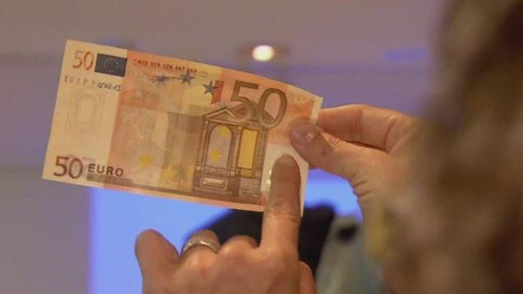 Neue Banknote kommt 2017: Auch der 50-Euro-Schein wird fälschungssicher