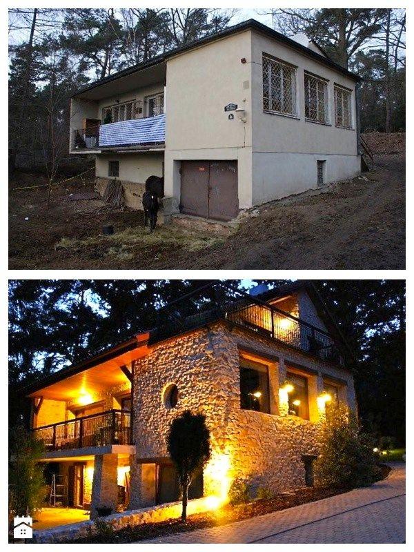 Modernizacja domu z lat 50' - zdjęcie od Pracownia Projektowa Jinako - Domy - Styl Prowansalski