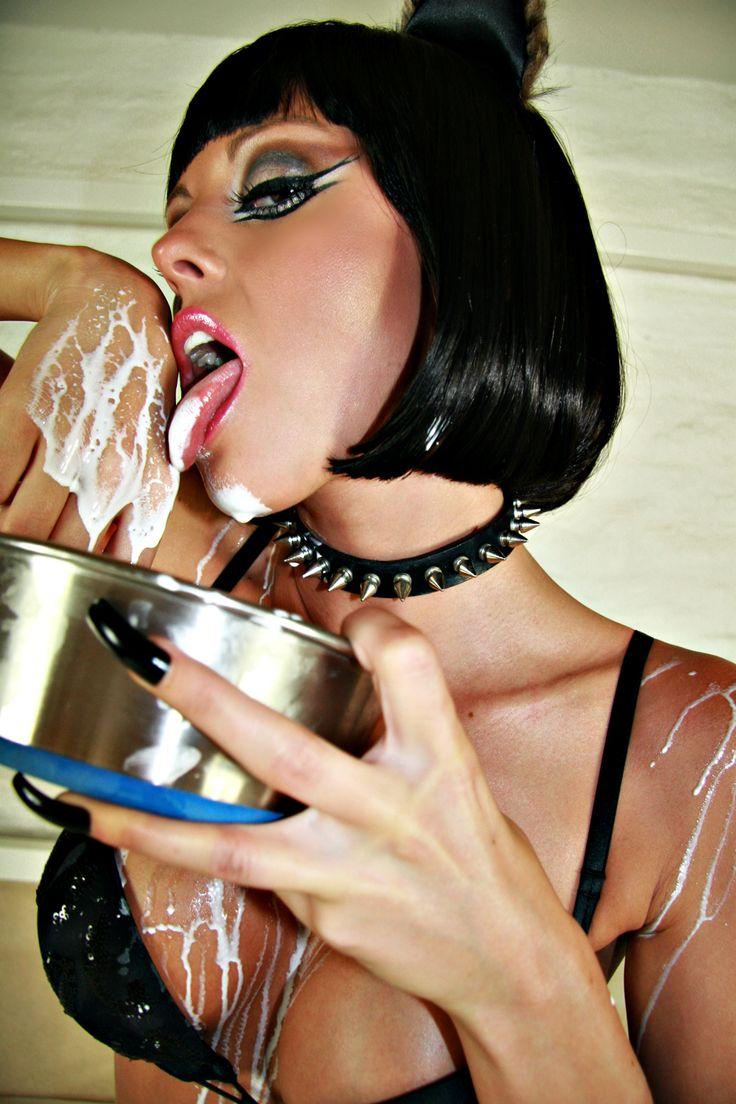 Catwoman takes a milk bath teaser 8
