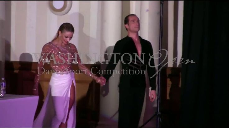 Riccardo Cocchi & Yulia Zagoruychenko Rumba Show Dance at the 2017 Washi...