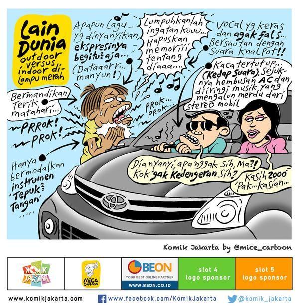 Lain Dunia by @mice_cartoon #KomikJakarta