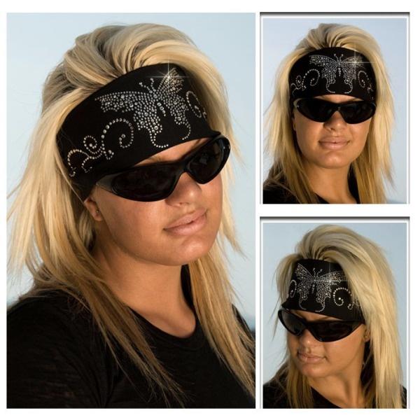 Ladies Biker Bandana....matches my helmet!!