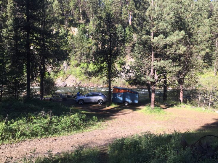 Driftwood Campground, North Fork John Day River, Oregon