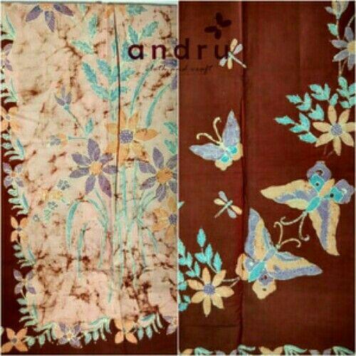 Batik tulis kontemporer motif tumpal  Rp. 320.000