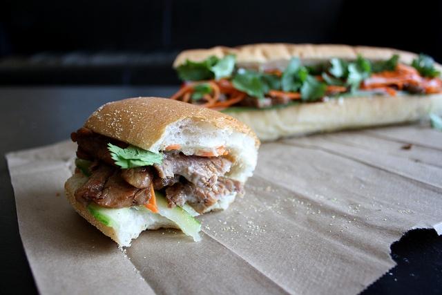 Spicy Pork Bulgogi Banh Mi Recipe — Dishmaps