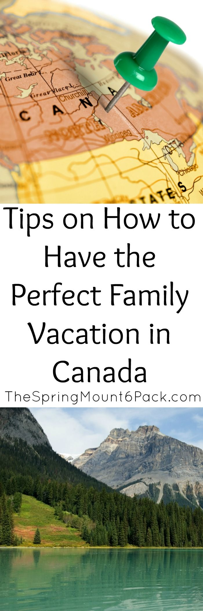 How To Have The Perfect Family Vacation In Canada