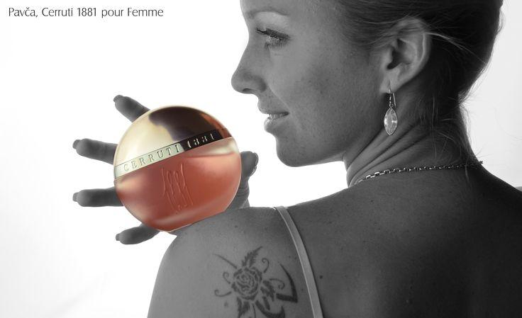 Pavča a její top vůně Cerruti 1881 pour Femme  http://www.parfums.cz/cerruti/1881-pour-femme-toaletni-voda-pro-zeny/