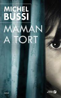 """Aurelie bouquine: """"Maman a tort"""" de Michel Bussi"""
