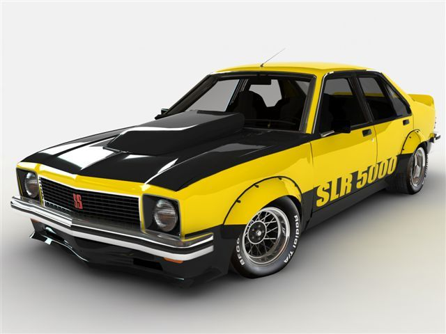 Holden Torana SLR 5000. 1975 Aussie muscle car.