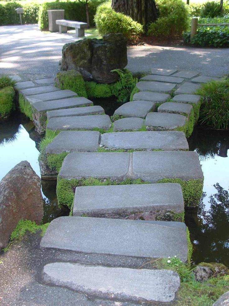 17 best images about japanese bridges and paths on pinterest for Pathway design ideas