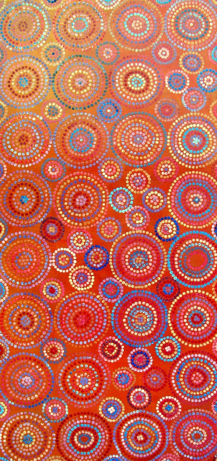 Acrylic on canvas - 150x80cm