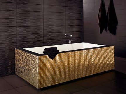 METALIC GOLD Emphasis Materia by Dune Ceramica
