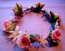 Rose Garland - Pale Pink AUD$34.95