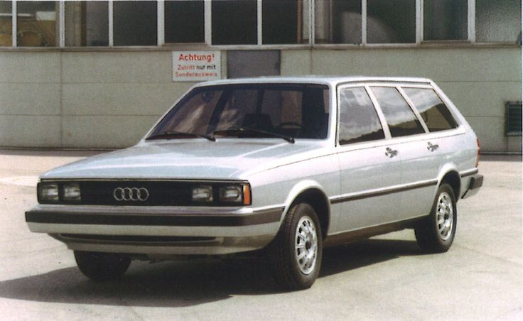 OG | 1978 Audi 80 Avant B2 | US version design study, dated 1977