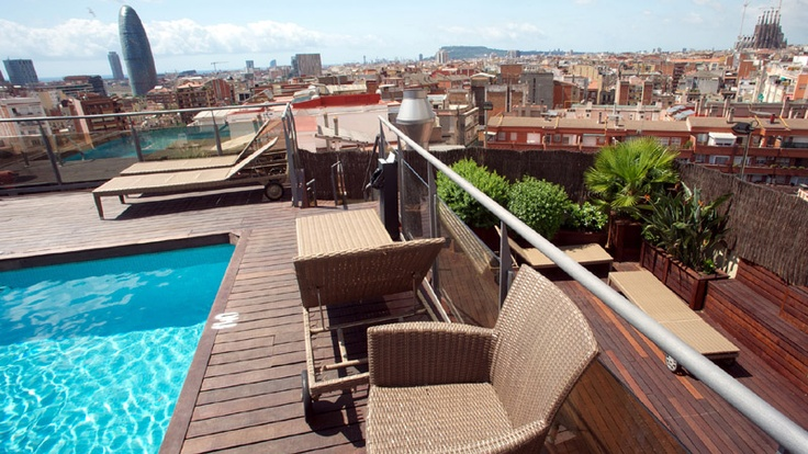 8 best Hotel Catalonia Atenas (Barcelona) images on Pinterest - hotel barcelone avec piscine sur le toit