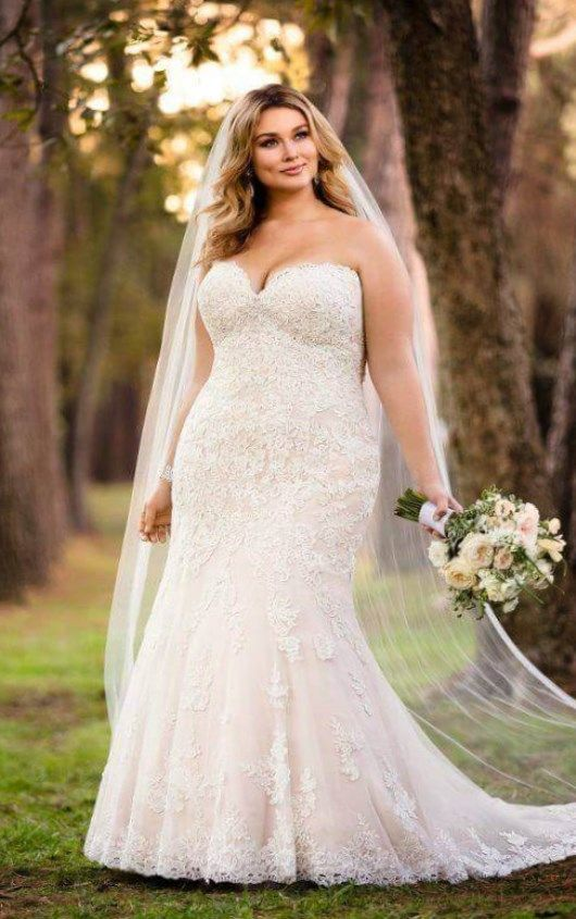 40274c215c4 Plus size fall wedding dresses   Bridal Gowns 2017 - PlusLook.eu Collection  and new looks