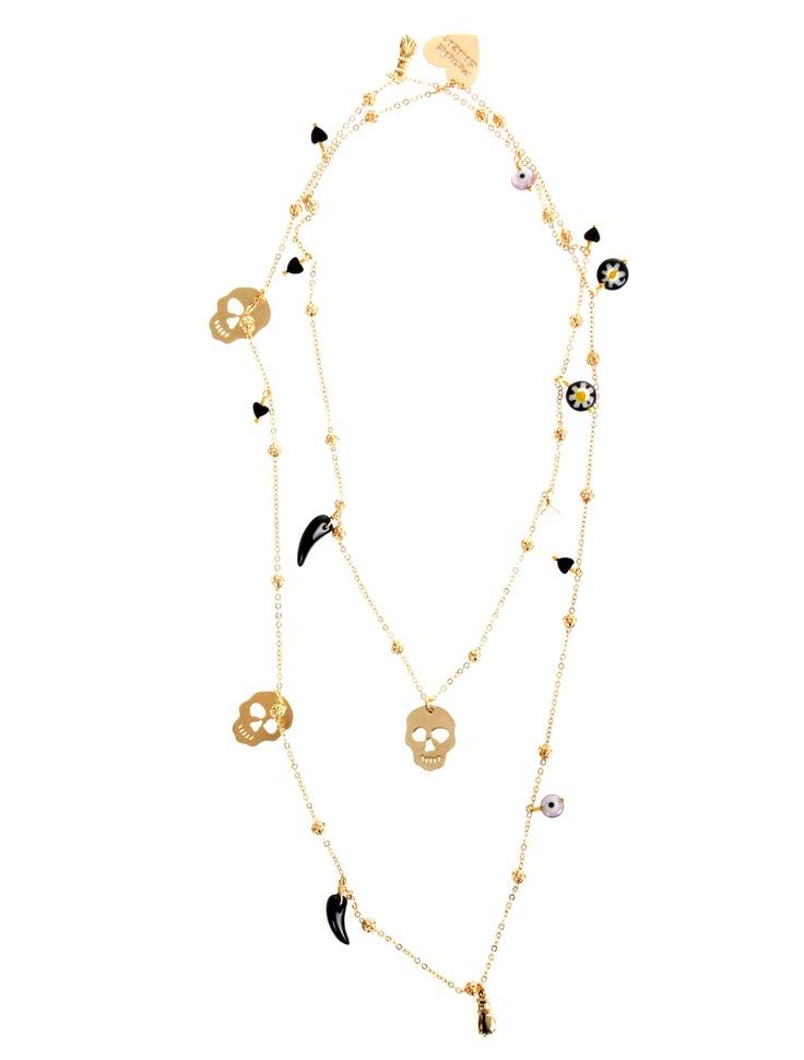 MERCEDES SALAZAR Skull Necklace