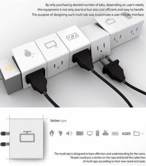 10 Shockingly Creative Power Strips