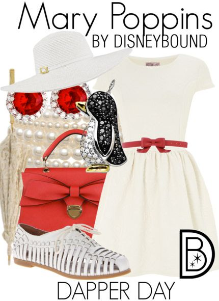 Look dapper in this Mary Poppins outfit. | Disney Fashion | Disney Fashion Outfits | Disney Outfits | Disney Outfits Ideas | Disneybound Outfits |