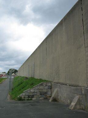 Prison's wall