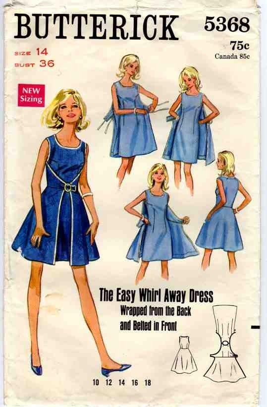 Butterick 4790, The Walkaway Dress From 1952